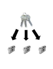 One key fits all locks