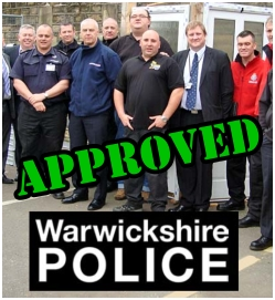 Police Approved locksmith Lee Clements
